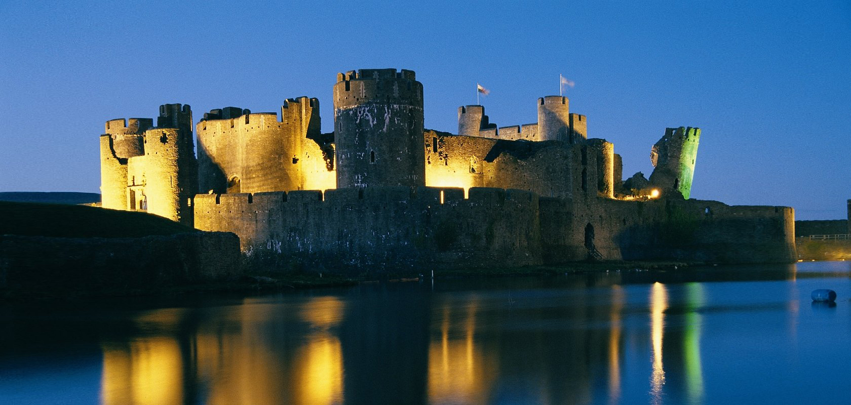 Caerphilly Castle Visitor Experience