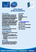 Project factsheet
