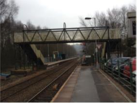 Platform before