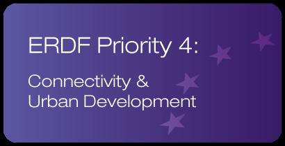 ERDF Priority 4: Connectivity & Urban Development