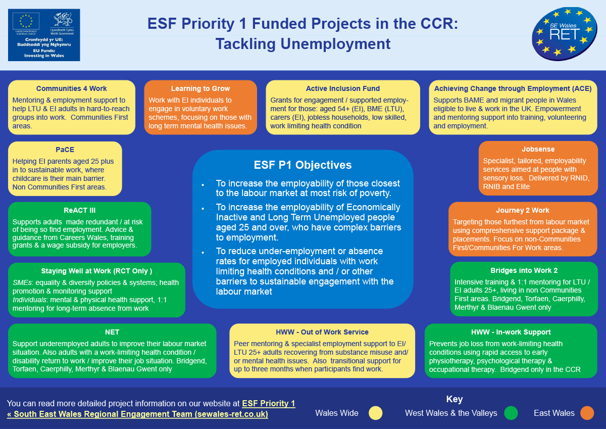 ESF Priority 1 infographic